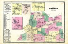Roseboom, South Valley, Centre Valley, Pleasant Brook, Otsego County 1868